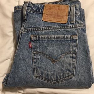 Vintage Levi 517 red tab jeans size 7